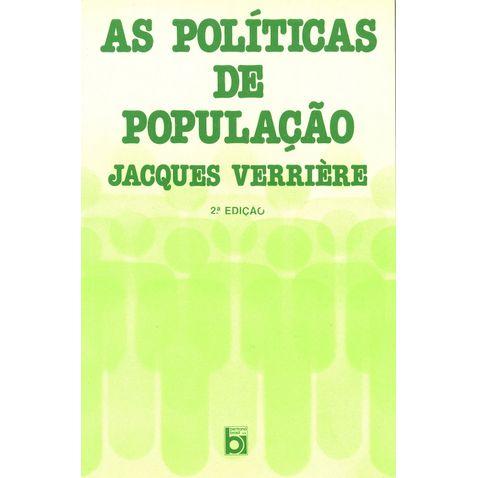 as-politicas-de-populacao-2ed-editora-bertrand