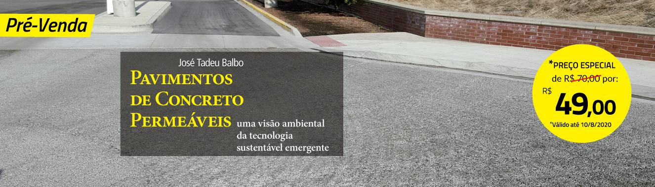 Banner Principal 3 - Pré-venda Pavimentos de concreto permeáveis