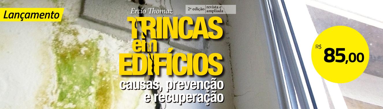 Banner Principal 7 - Pré-venda Trincas em edifícios - 2ª ed.