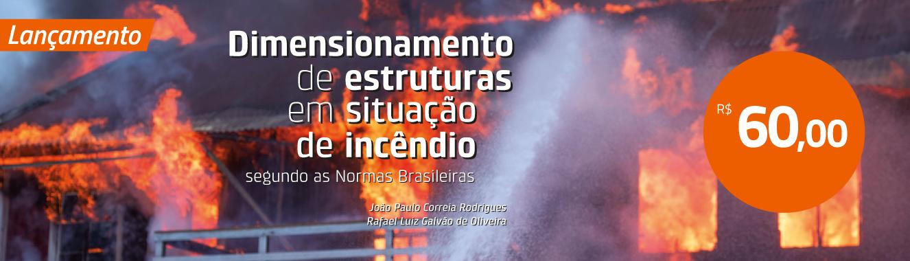 Banner Principal 5 - Dimensionamento de estruturas em situação de incêndio